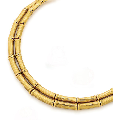 SOLD - Bamboo Necklace by Cartier