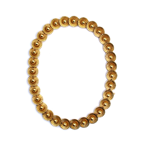 A Fine Boucheron Gold Necklace