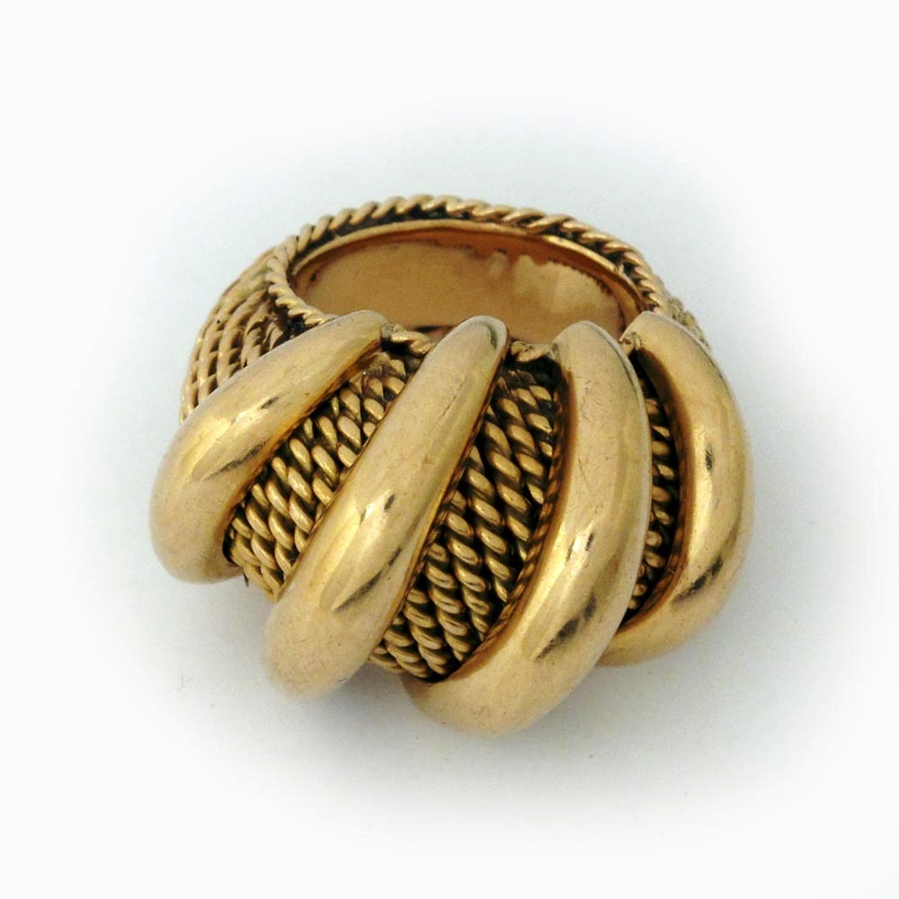SOLD - A French Gold Ring