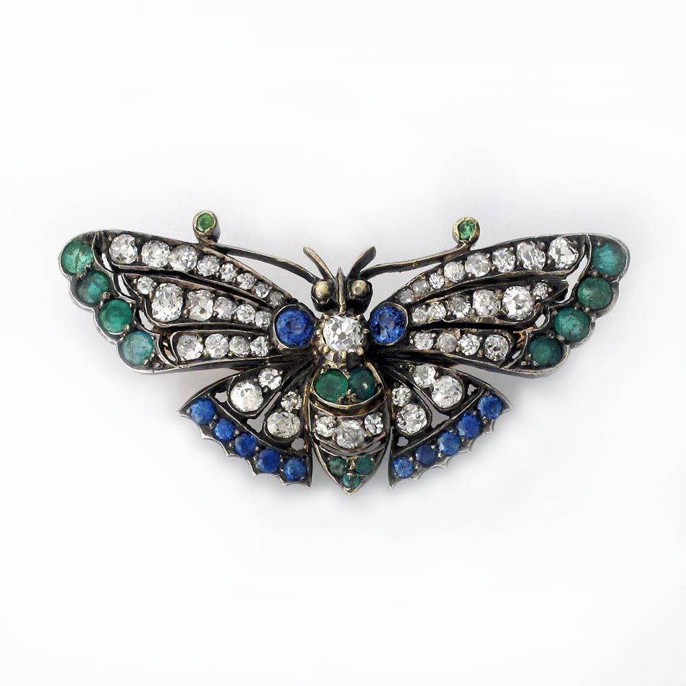 SOLD - An Antique Butterfly Brooch