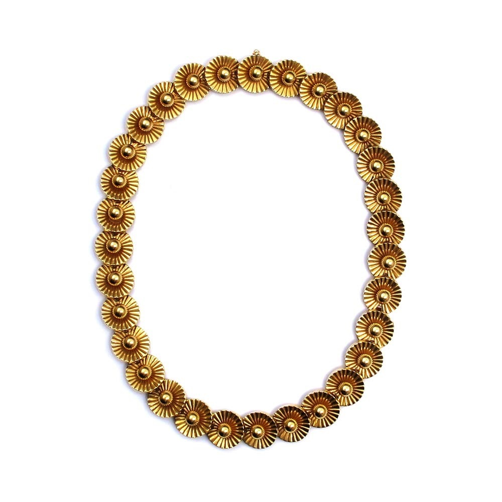SOLD - An English Estate Gold Necklace
