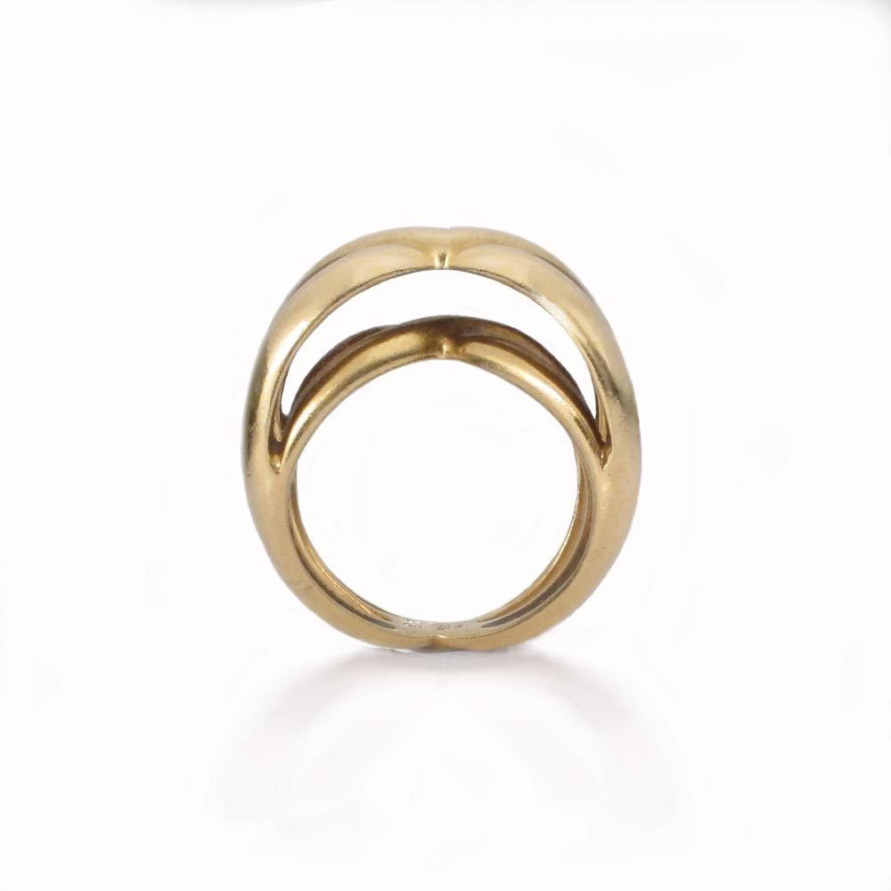 SOLD - An American Gold Ring by Claflin for Tiffany