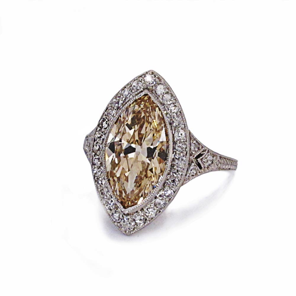An Antique Edwardian Diamond Ring