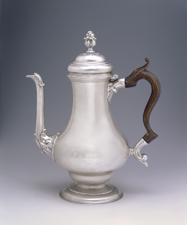 SOLD - An Early American Silver Coffee Pot