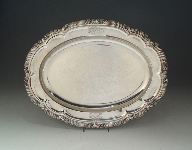 SOLD - A Georgian Antique English Old Sheffield Plate Meat Dish