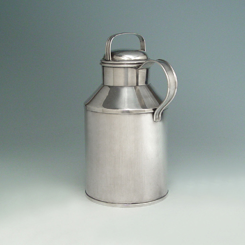 HOLD - An Unusual American Silver Cocktail Shaker