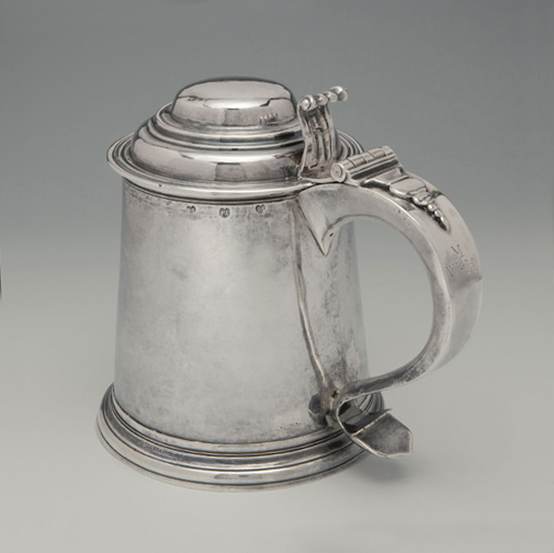 SOLD - An Early American Silver Tankard