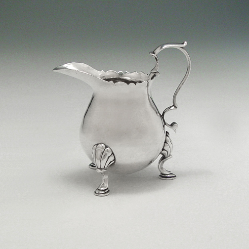 SOLD - An Early American Silver Creamer