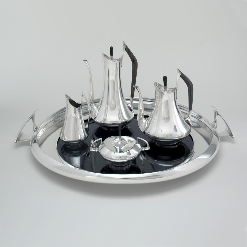 A Circa '70 Pattern Silver Tea & Coffee Service