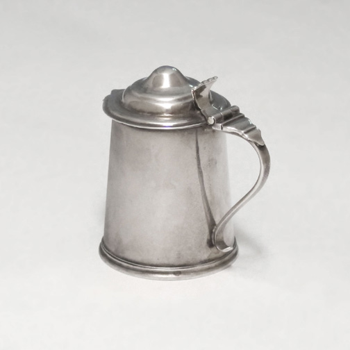 SOLD - A George I Antique English Silver Miniature Tankard