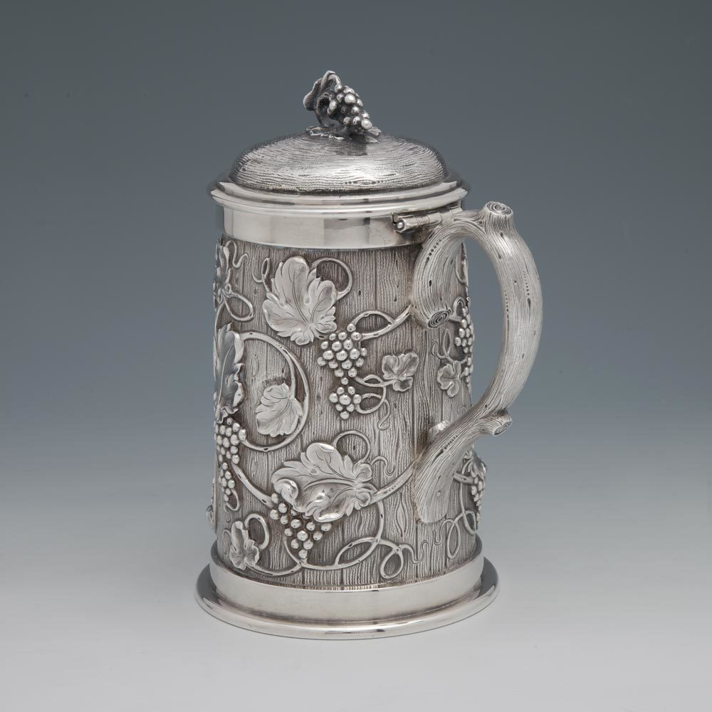 SOLD - An American Victorian Silver Tankard
