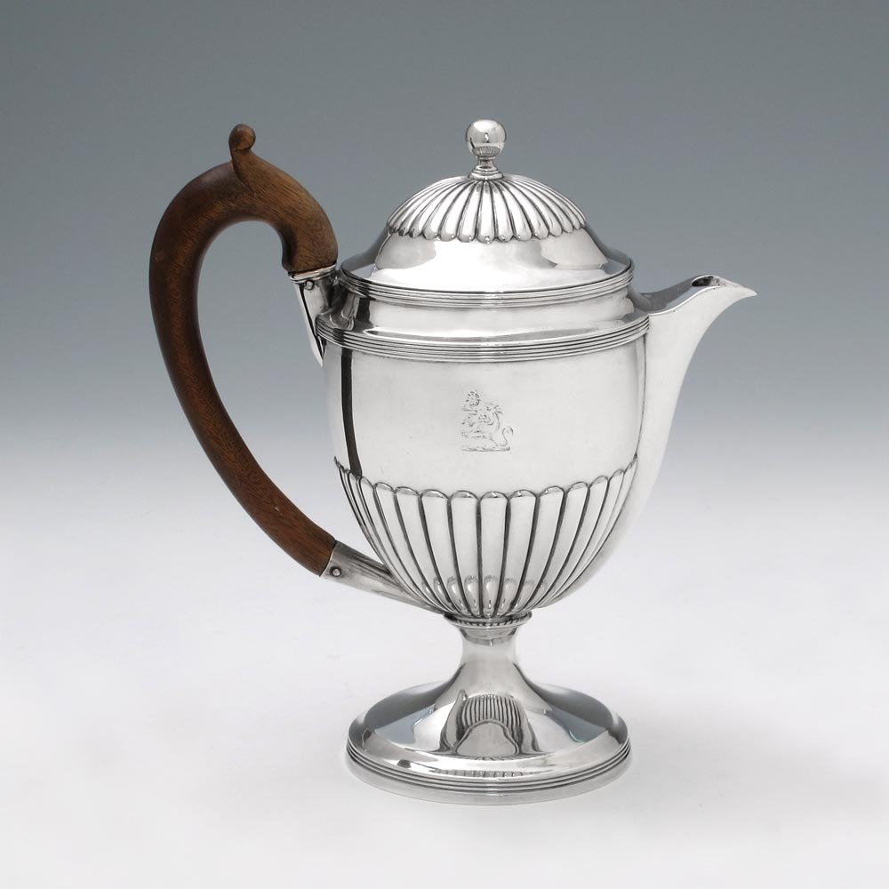SOLD - A George III Antique English Silver Argyle