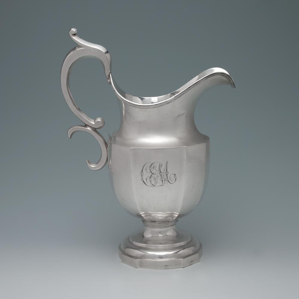 An Early American Silver Pitcher