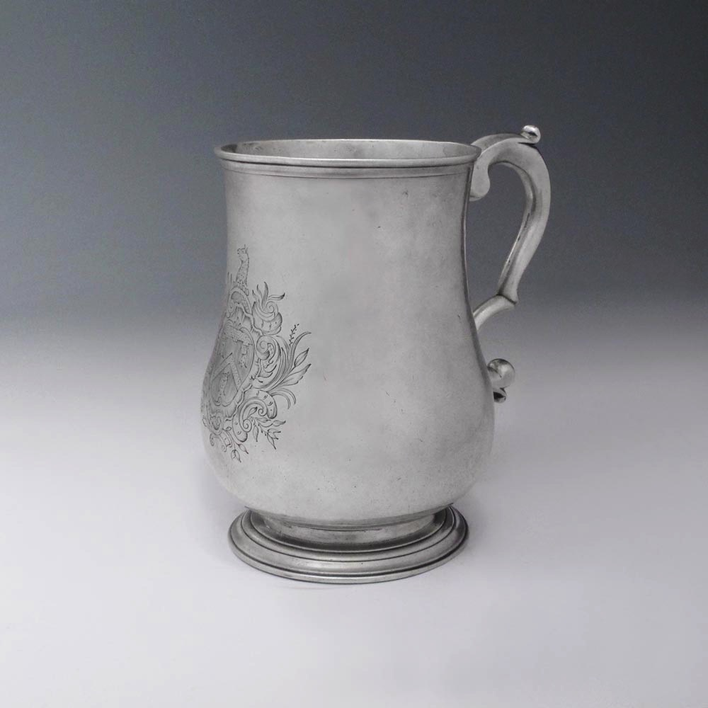 SOLD - An Early American Silver Mug
