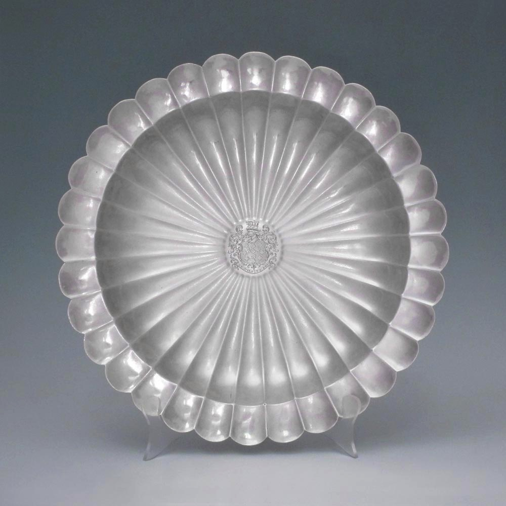 A George II Antique English Silver Dish