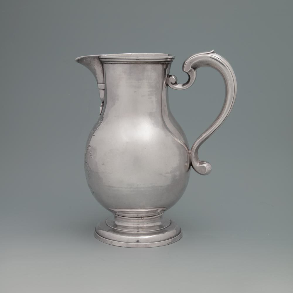 SOLD - A George I Antique English Silver Jug