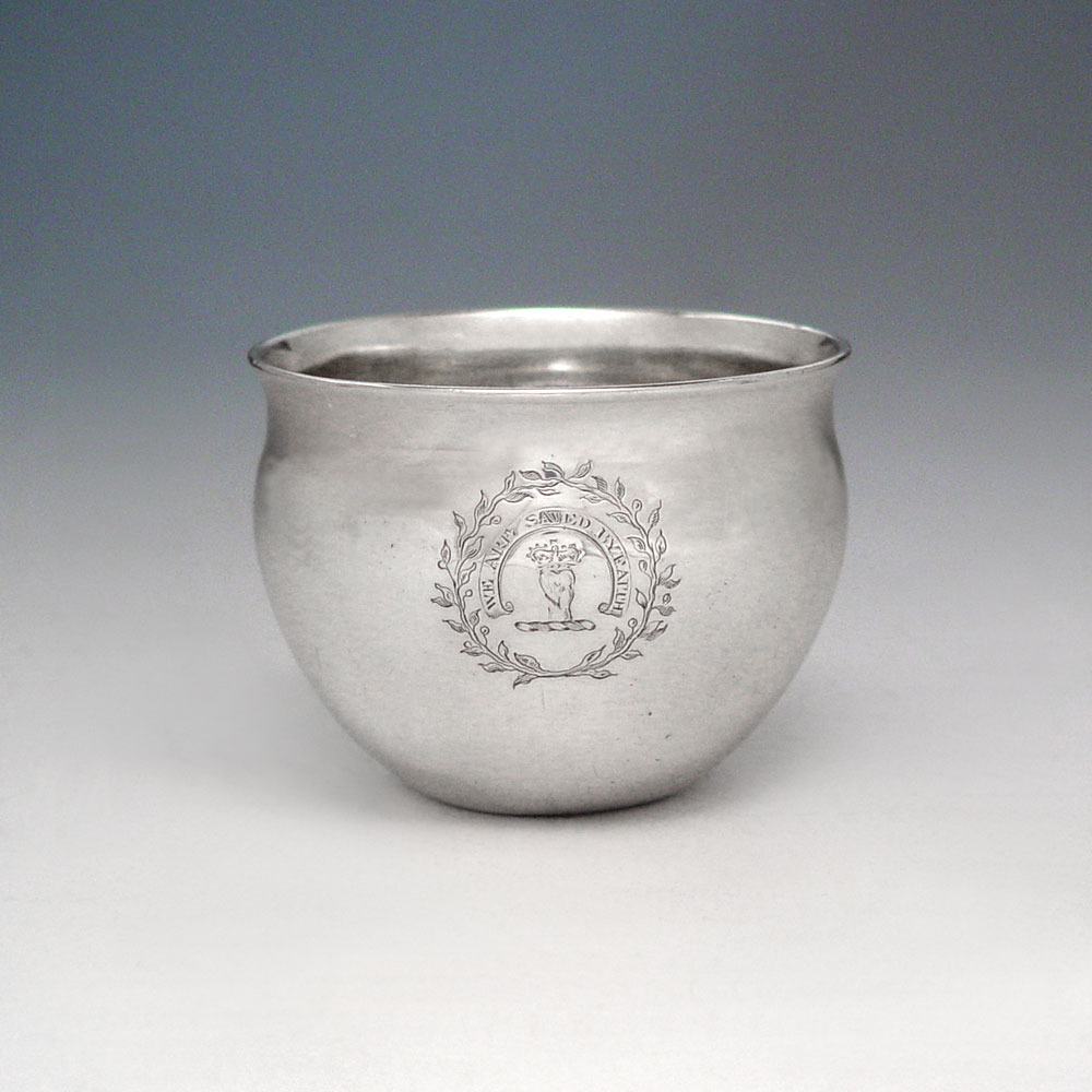 SOLD - A George III Antique Scottish Silver Tumbler Cup