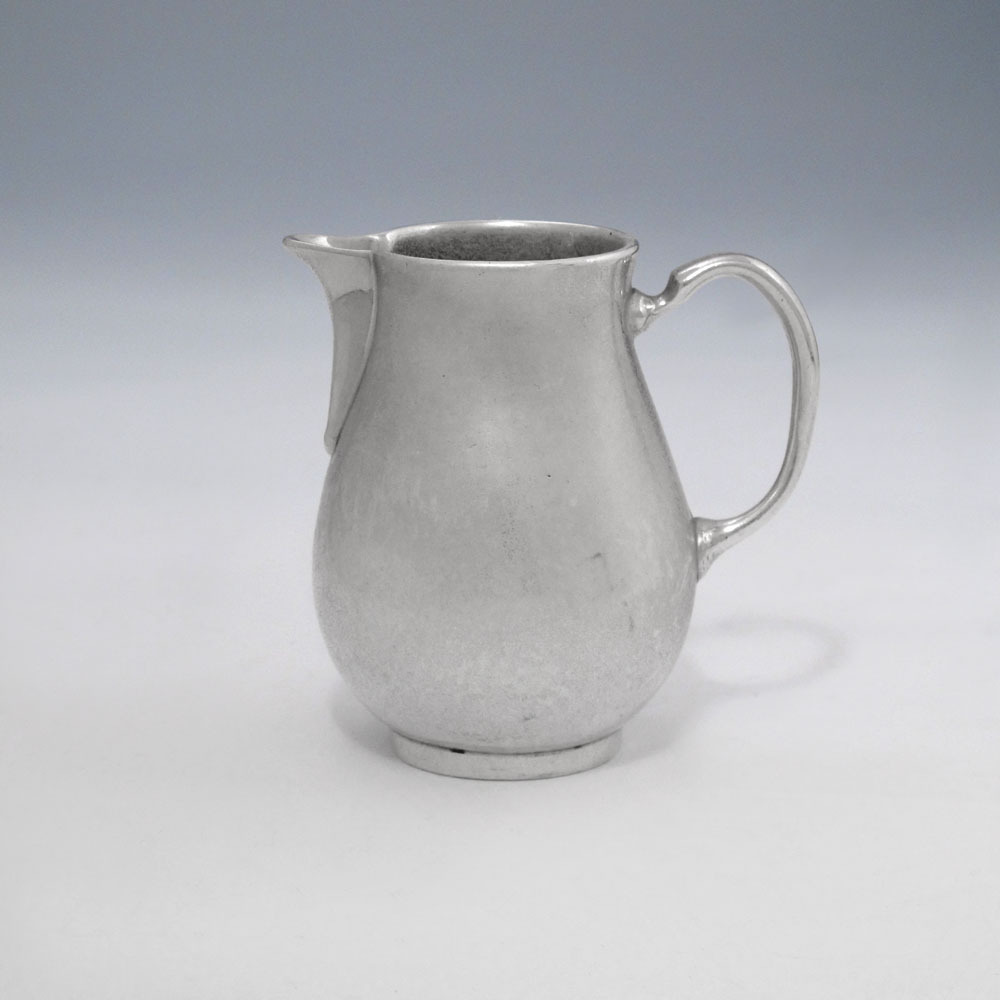 A George I Antique English Silver Creamer