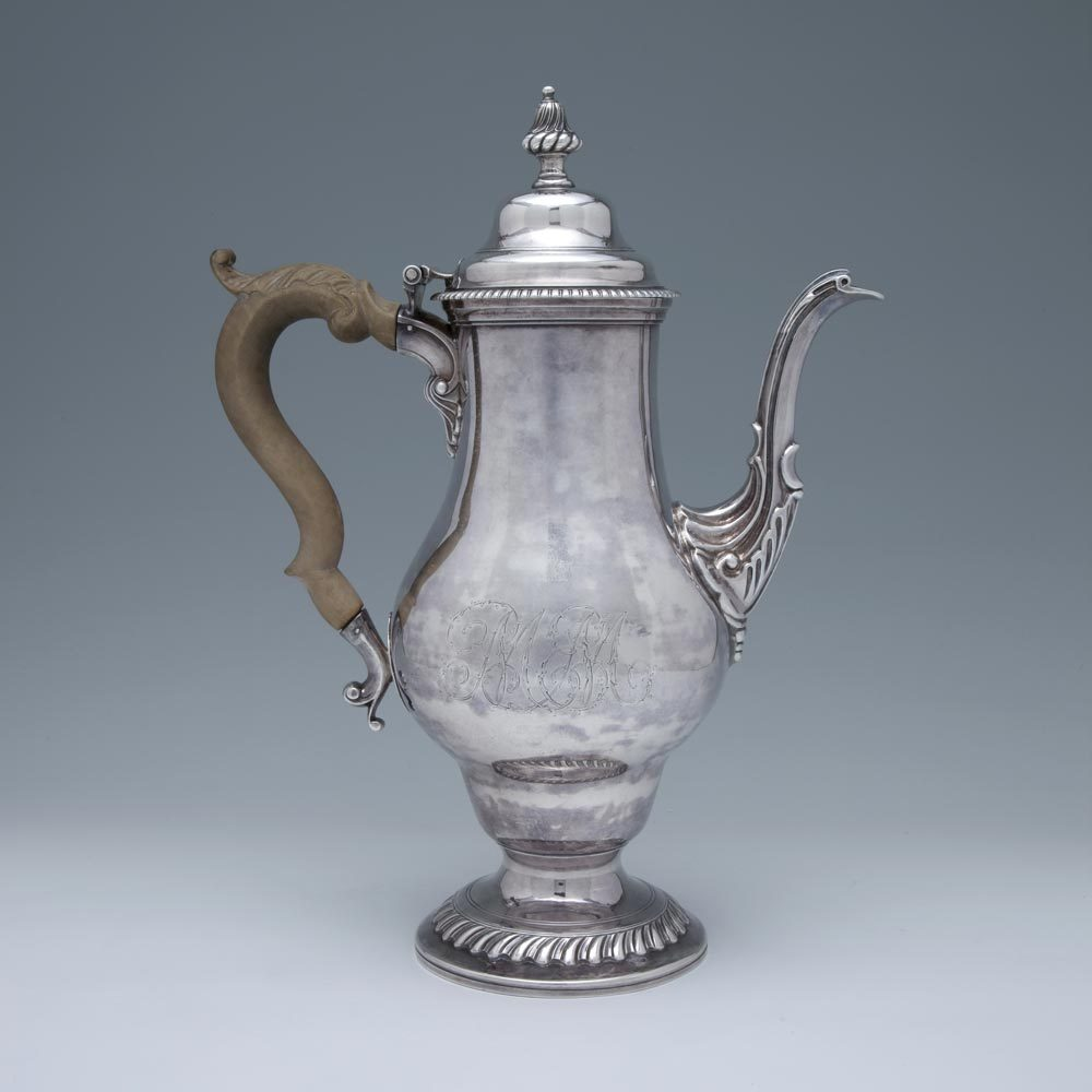 An Early American Silver Coffee Pot