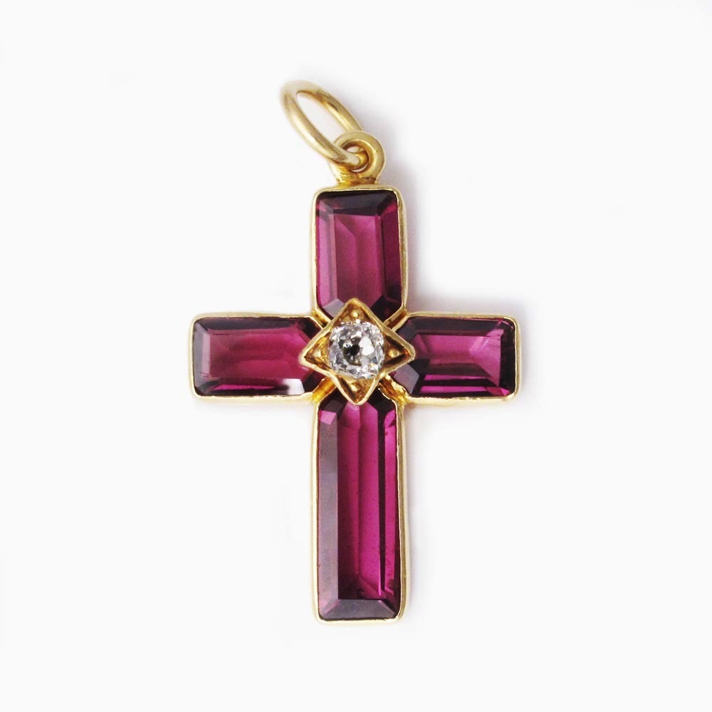 X5744 cross garnet web