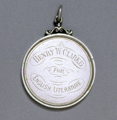 SOLD - A Victorian Antique Irish Silver Medal